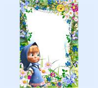 Детские фоторамки онлайн. Бесплатные рамки для фото на ...