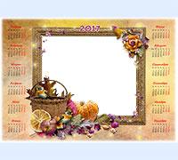 Детские фоторамки с календарем