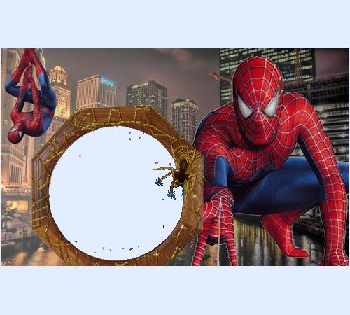 Рамка для фотографий человек паук