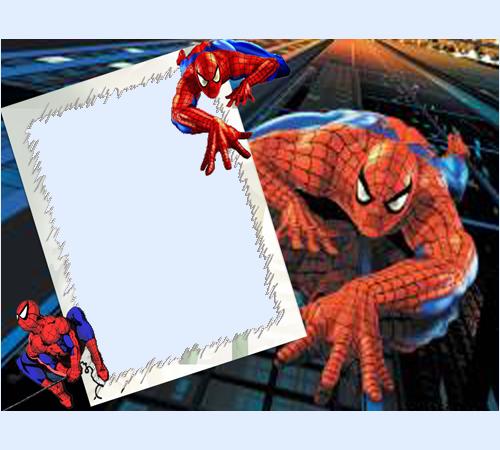 Человек паук спешит на помощь
