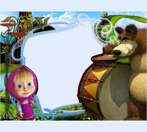 Фотографий маша и медведь музыцируют